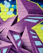 Purp graffiti