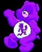 Purple Juggalette Bear