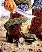 Nacona Boot Ad Snake
