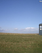 TARDIS in Scotland Doctor Who