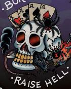 Ed Hardy Tattoo Born To Raise Hell