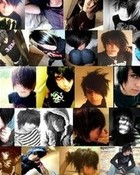 Hot emo collage