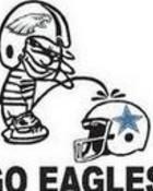 Eagles Peeing On Cowboys