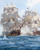 Montague Dawson-Sea_Action