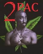 2Pac---Tupac-Shakur---Marijuana-Leaf.jpeg wallpaper 1