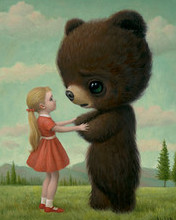 Free Goodbye Bear phone wallpaper by miathyria