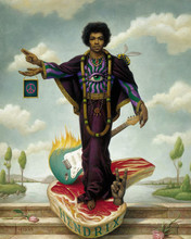 Free Jimi Hendrix phone wallpaper by miathyria