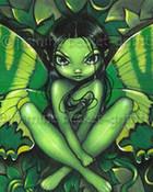 Green Butterfly Fantasy