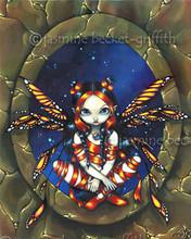 Free Starry Night Fairy phone wallpaper by miathyria