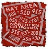 Free Bay Area Northern California Area Codes phone wallpaper by bpnoid