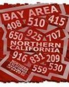 Bay Area Northern California Area Codes