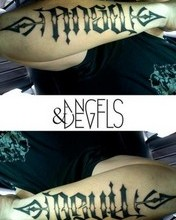 Free angel & devil tattoo.jpg phone wallpaper by 2drtans