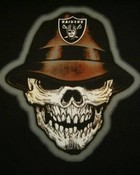 raiders skull wallpaper 1