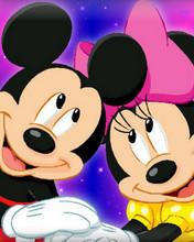 Free Mickeyandminne phone wallpaper by oobabymelioo