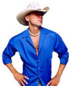 kenny in a blue shirt wallpaper 1