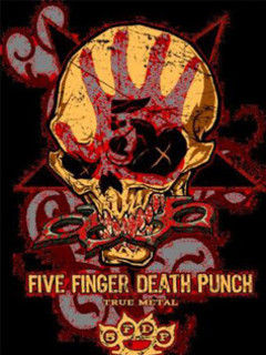 Free Five Finger Death Punch.jpg phone wallpaper by g2theodfather