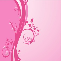 Free pink floral phone wallpaper by misses