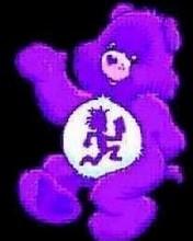 Free Purple Juggalette Bear phone wallpaper by hatchetrydaslet