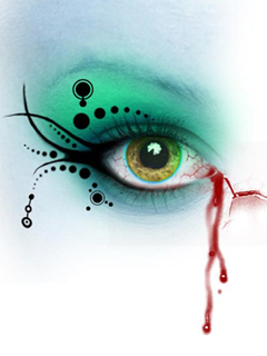 Free Green Eye phone wallpaper by iamlal2