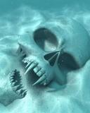 Free Vampire Skull.jpg phone wallpaper by cacique