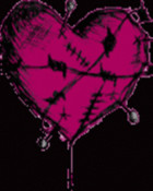 Pink Heart Barbwire
