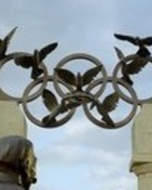 Olympic rings wallpaper 1