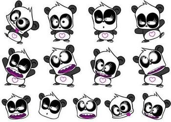 Free panda phone wallpaper by imsunshine