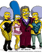 matt groening whit marge, patty and selma.jpg