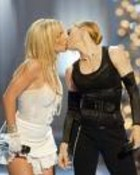 BRITNEY SPEARS AND MADONNA KISSING