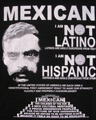 mexican not latino