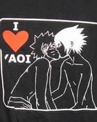 yaoi T-shirt of sasunaru