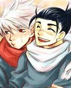 yaoi-sweet iruka and kakashi couple :33
