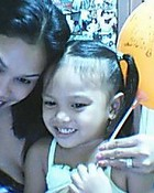 my angel and pretty mom,,