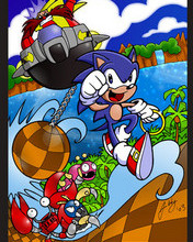 Free sonic phone wallpaper by kingtaco2