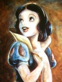 Free snow white phone wallpaper by gogothen