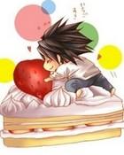 Death_Note L cake wallpaper 1