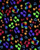 MUSIC NOTES wallpaper 1