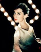 Audrey Hepburn w/ lights