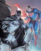 batman/superman wallpaper 1