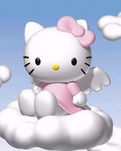 Free Hello Kitty Angel phone wallpaper by cleohines
