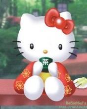 Free Hello Kitty Geisha phone wallpaper by cleohines