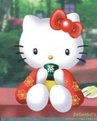Hello Kitty Geisha wallpaper 1
