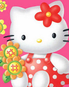 hello kitty polkadot