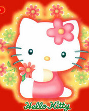 Free Hello Kitty Flowers phone wallpaper by cleohines
