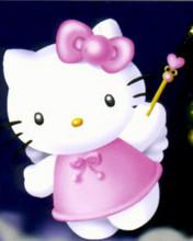 Free Hello Kitty Starlight Fairy phone wallpaper by cleohines