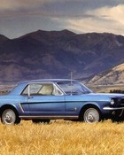 1965 Ford Mustang -color advertising photo.jpg wallpaper 1
