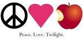 Free peace love twilight phone wallpaper by writerjen1991