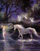 Angels,Spirits,Fairies - Fairy And Unicorn.jpg
