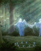 Angels,Spirits,Fairies - Fairy Ring In The Forest.jpg wallpaper 1