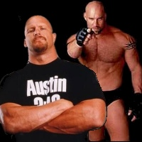 Free wwe superstars Goldberg and Stone Cold Steve Austin.jpg phone wallpaper by mkt1977xx